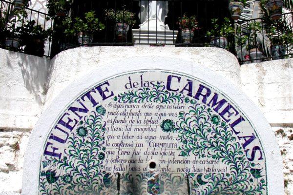 Fuente de las Carmelas en Bérchules