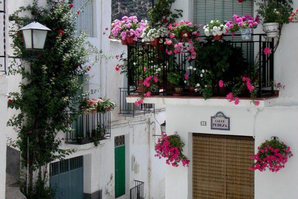 Calle típica de Trevélez